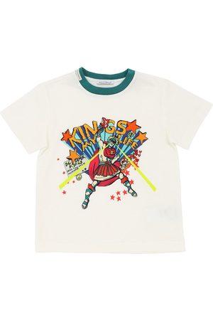 Dolce & Gabbana Camiseta De Algodón Jersey Estampada