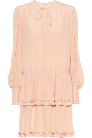 Stella McCartney Vestido corto de seda