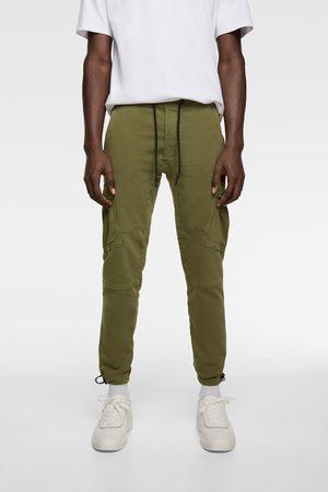Pantalon Cargo De Zara Para Hombre Fashiola Es