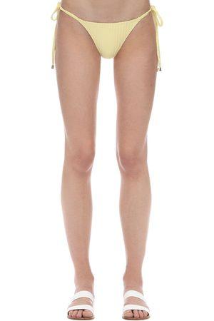 Peony Mujer Bikinis - Braguitas De Bikini Acanaladas