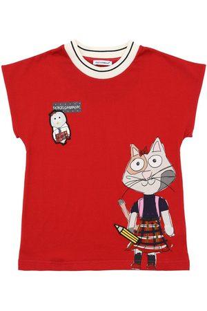 Dolce & Gabbana Camiseta De Jersey De Algodón Estampada