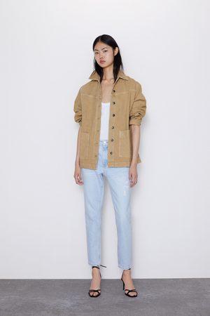 Zara Jeans z1975 mom fit rotos