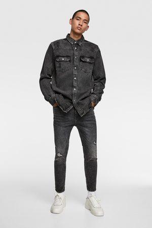 Zara Hombre Pitillos - Jeans skinny cropped