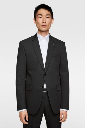 Zara Hombre Blazers - Blazer conjunto cinzato confort