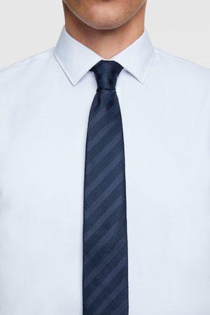 Zara Hombre Corbatas y corbatín - Corbata ancha rayas