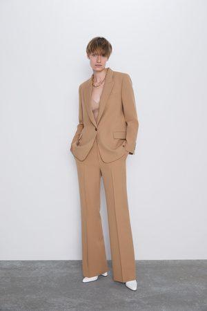 Zara Mujer Blazers - Blazer bolsillos solapa