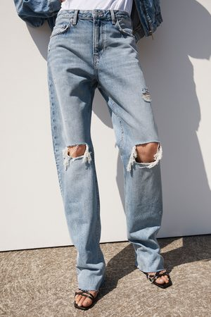Zara Jeans zw premium straight misty blue