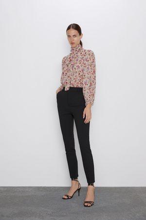 Pantalones De Talle Alto De Zara Para Mujer Fashiola Es