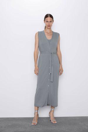 grandes ofertas en moda 100% de alta calidad paquete de moda y atractivo Chaleco vestido punto