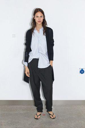 Chaqueta Mujer – Zara de Punto en Color Azul Clarito de
