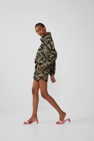 Zara Mujer Bermudas - Shorts elásticos