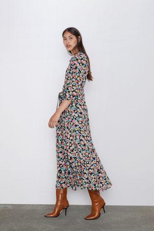 venta barata del reino unido modelos de gran variedad diseño hábil Vestido largo estampado floral