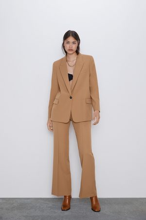 Zara Mujer Pantalones y Leggings - Pantalón flare