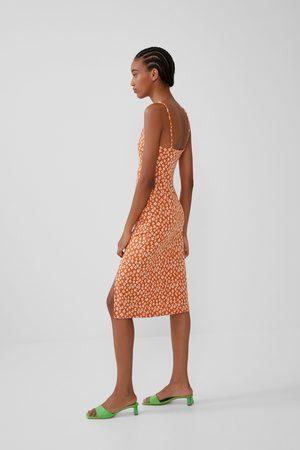 Zara Mujer Vestidos - Vestido estructura
