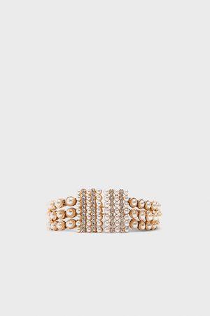 Zara Cinturón perlas