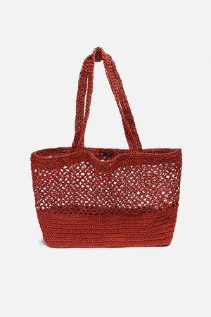 Zara Mujer Bolsos shopper y tote - Bolso shopper red