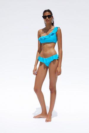 Zara Top bikini asimétrico