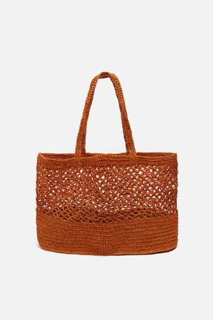 Zara Bolso shopper red