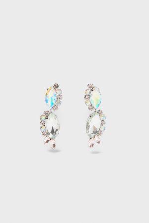 Zara Mujer Pendientes - Pendientes brillos
