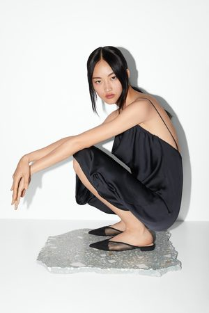 Zara Mujer Planos - Mule plana rejilla