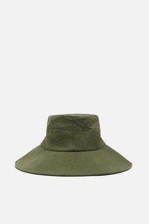 Zara Mujer Sombreros - Sombrero bucket