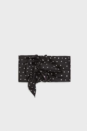 Zara Mujer Bufandas y Pañuelos - Pañuelo estampado lunares