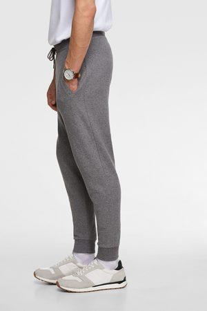 Zara Hombre Joggers - Pantalón jogger básico