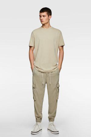 Zara Camiseta básica larga