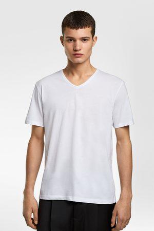 Zara Hombre Camisetas - Camiseta deluxe pico