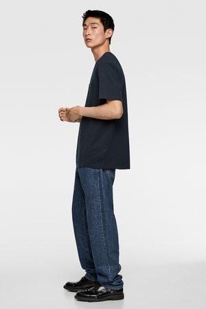 Zara Hombre Camisetas - Camiseta bolsillo