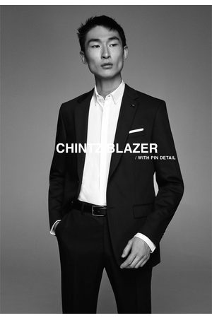 Zara Blazer conjunto cinzato comfort