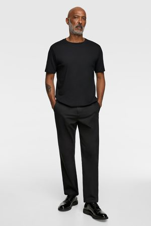 Zara Camiseta básica regular fit