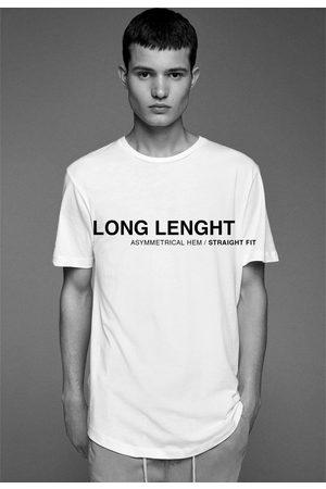 Zara Hombre Camisetas - Camiseta básica larga