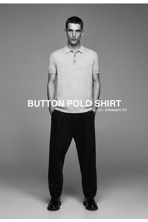 Zara Hombre Polos - Polo manga corta