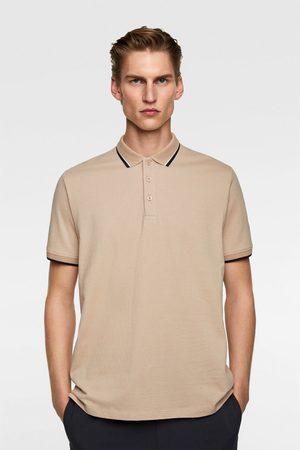 Zara Polo jacquard