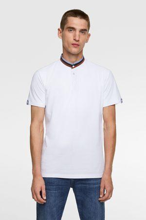 Zara Hombre Polos - Polo cuello mao