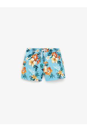 Zara Niño Shorts de baño - Bermuda estampado flores