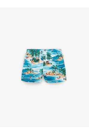 Zara Niño Shorts de baño - Bermuda baño islas