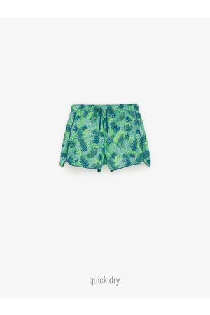 Zara Niño Shorts de baño - Bermuda baño hojas