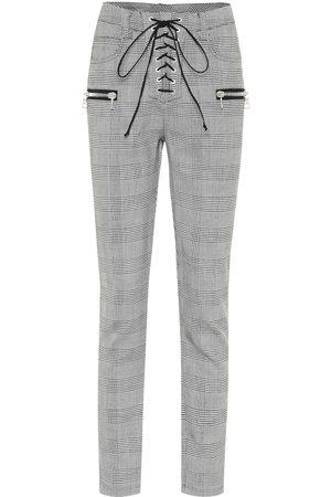 UNRAVEL Pantalones skinny en mezcla de lana