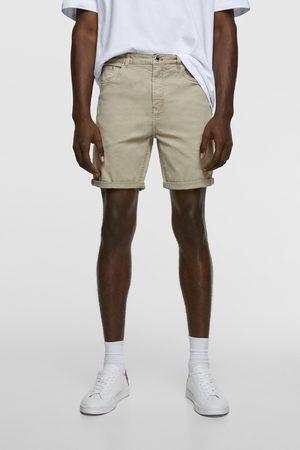 Zara Hombre Bermudas - Bermuda básica new skinny