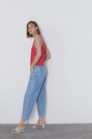 Zara Mujer Tops halter - Top halter antelina