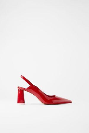 Zara Mujer Tacón - Zapato tacón ancho destalonado