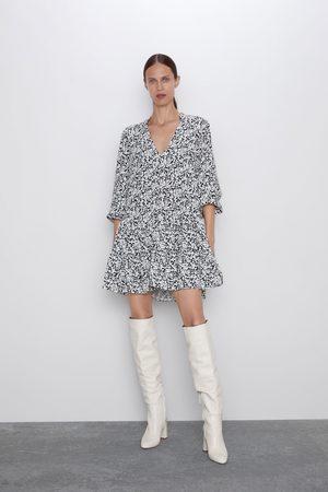 Zara Mujer Estampados - Vestido estampado