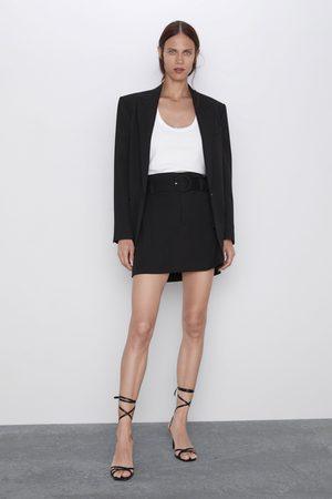 Zara Falda mini cinturón