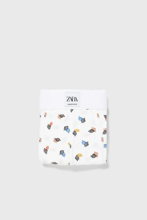 Zara Hombre Calzoncillos y Boxers - Bóxer estampado hojas