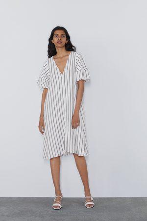 Zara Mujer Vestidos - Vestido textura