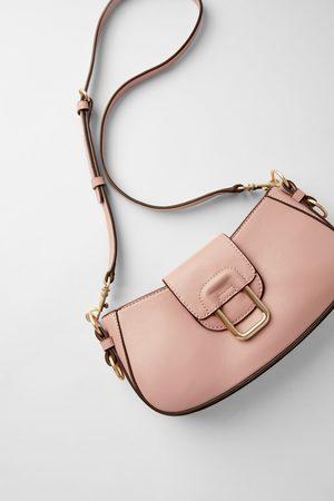 Zara Mujer Bolsos - Bolso baguette hebilla