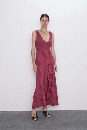 Zara Vestido combinado