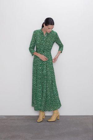 zara online vestidos largos